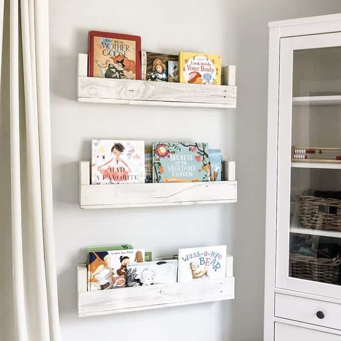 kid book storage