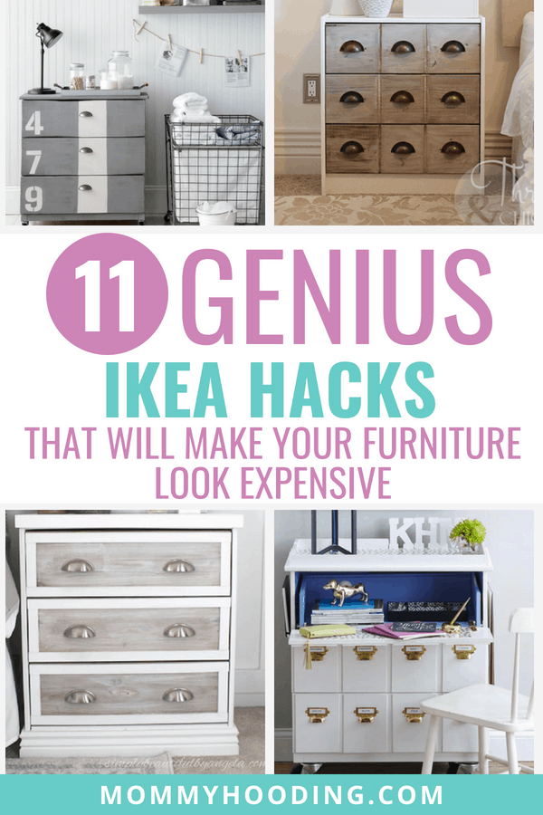 Some of the best Ikea hacks! These are gorgeous Ikea furniture makeovers that will inspire your own projects.