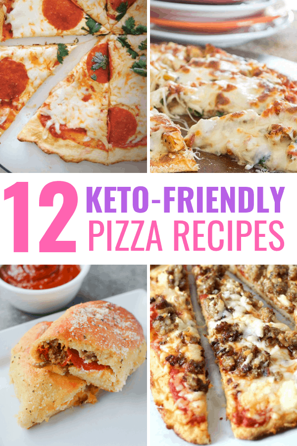 12 delicious keto pizza recipes that will make you forget you're even on the ketogenic diet.