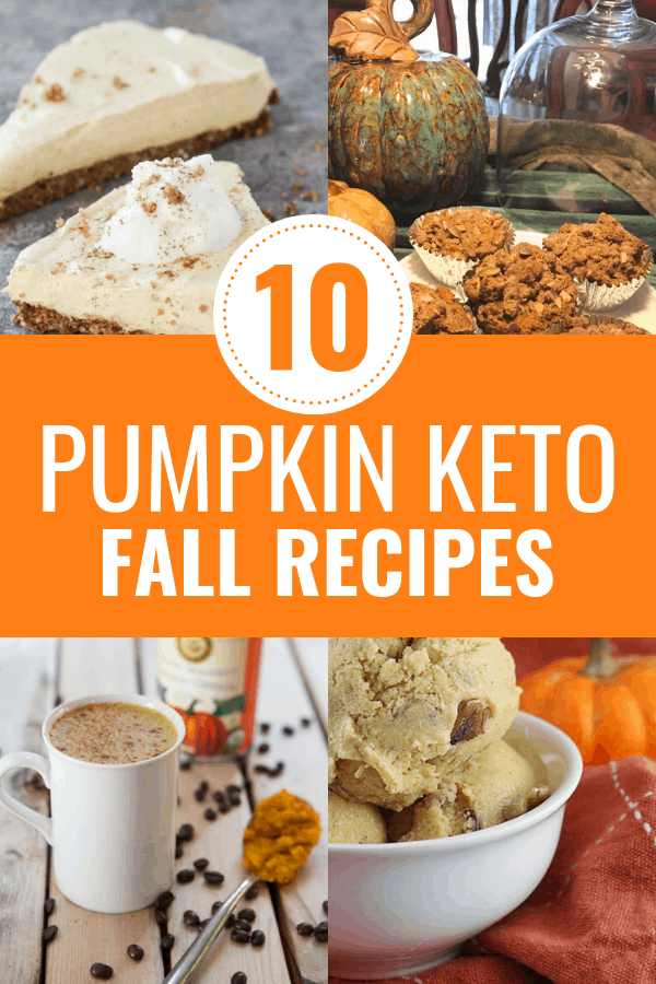 Pumpkin Keto recipes that you will love this fall! These top 10 keto pumpkin recipes will allow you to enjoy pumpkin everything without going off your ketogenic diet.