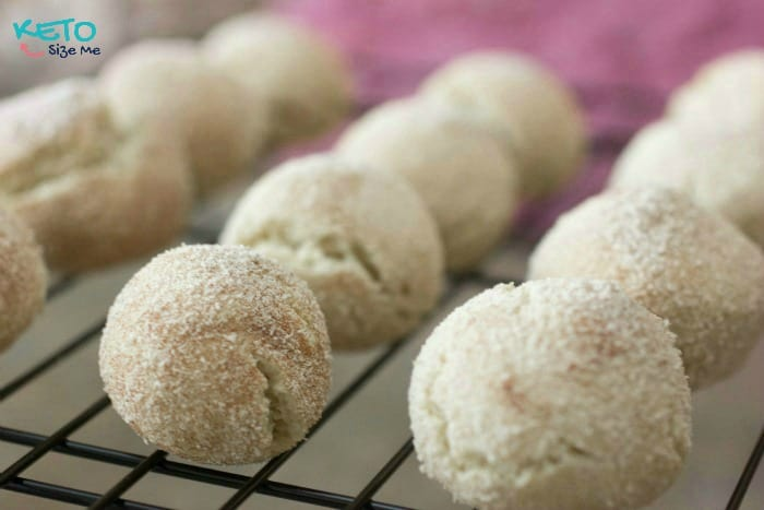 Looking for Keto Christmas ideas? Try these cookie dough balls!