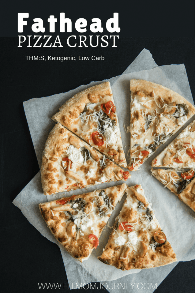 Keto Pizza Recipe from Fit Mom Journey using Fathead crust