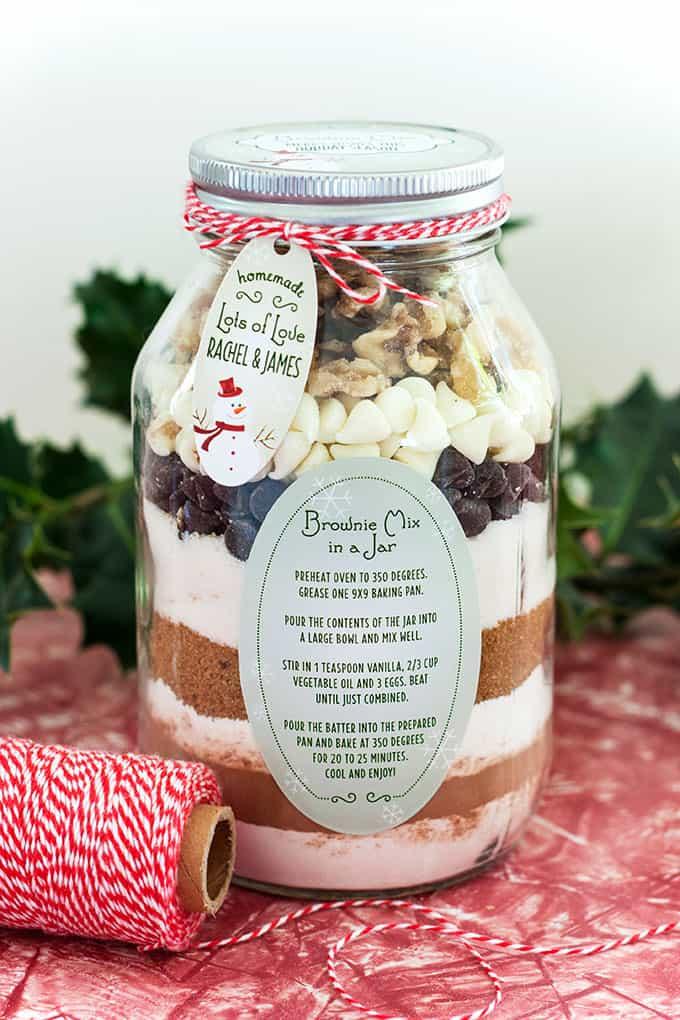 DIY Christmas Gift in a Jar