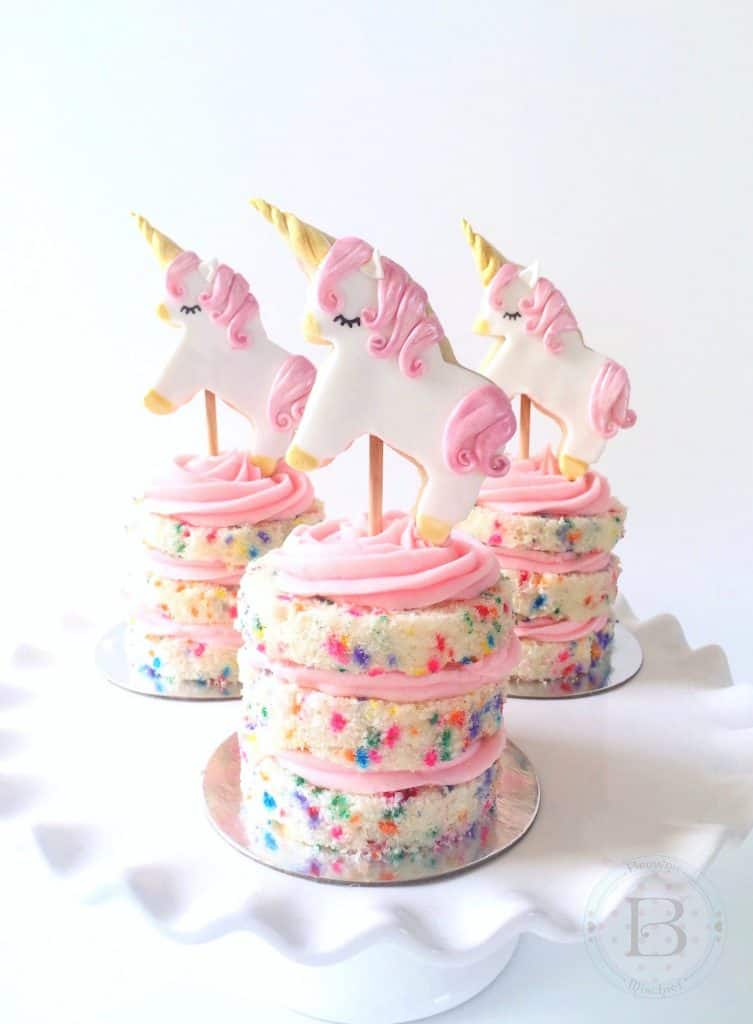 DIY Unicorn cake ideas