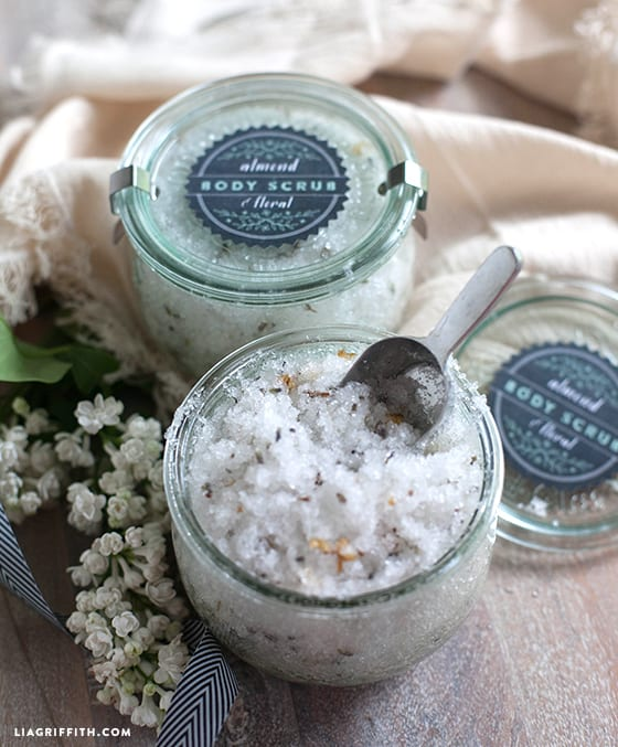 DIY Body Scrub that is perfect for gifts