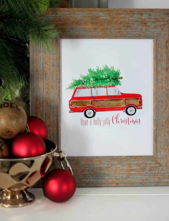 DIY CHRISTMAS PRINTABLE