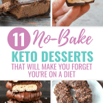 11 No-Bake Keto Desserts That Will Make You Forget You're on a Diet