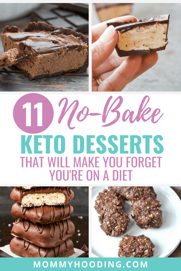 Keto No-Bake Desserts that will make you forget you're actually on the ketogenic diet.