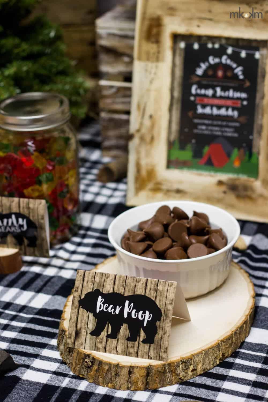 lumberjack birthday party food