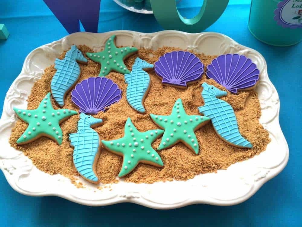 mermaid party food
