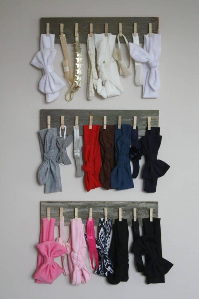 organized nursery ideas