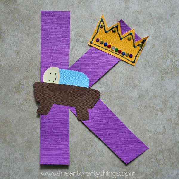 Letter K Craft of the Week