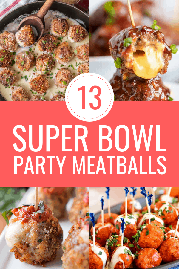13 Super Bowl party meatball appetizers that will impress your guests. Throwing a football or Super Bowl party? Defintely try out one of these cocktail meatball recipes.