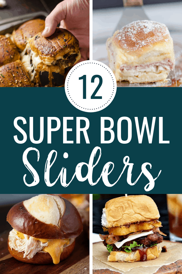 Super Bowl Sunday is my favorite time to host a game day party, because I love super bowl finger foods, especially all the super bowl party sliders! Check out this list of MUST MAKE party sliders that will have people raving! #superbowl #sliders