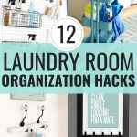 12 Genius Laundry Room Organization Hacks