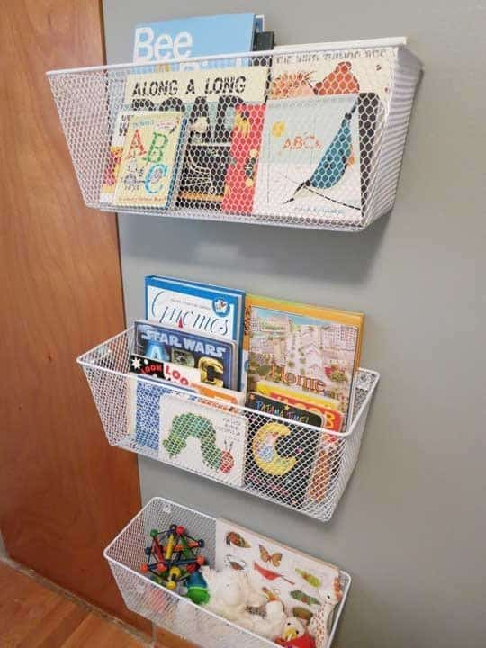 Kid book storage ideas
