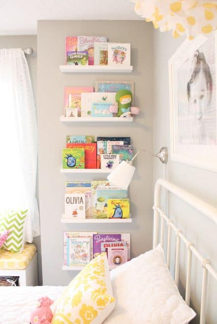 Ikea Hack for Book Storage