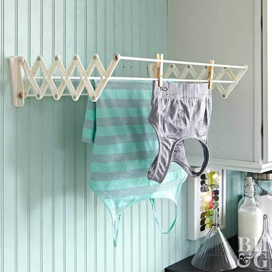 laundry room drying hack
