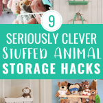 9 Clever Stuffed Animal Storage Ideas