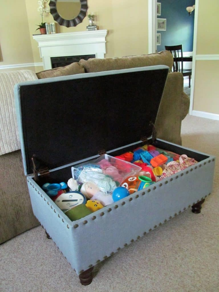 bedroom toy storage