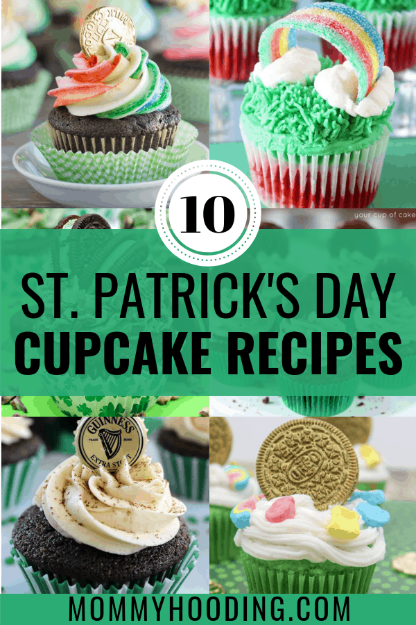 Are you looking for St. Patrick's Day party food ideas? Check out these must-bake St. Patrick's Day cupcake recipes! These are the PERFECT St. Patrick's Day dessert for any party! #stpatricksdaycupcake #stpatricksdaydessert