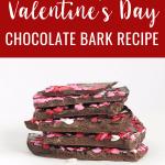 The Easiest Valentine's Day Chocolate Bark Recipe