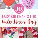 10 Easy Valentine's Day Kid Crafts