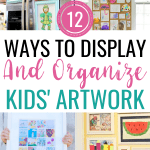 12 Genius Kids' Artwork Display Ideas