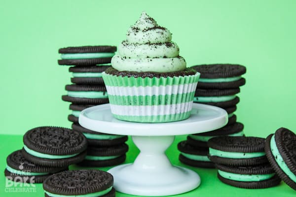 St. Patrick's Day Cupcake Recipe