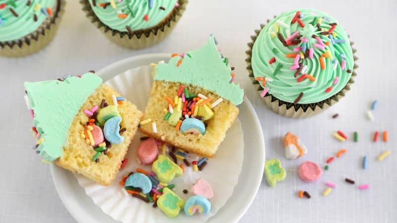 St. Patricks Cupcake