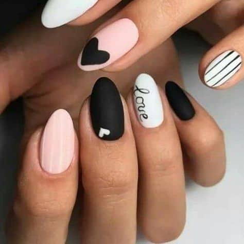 Valentine's Nails Inspo