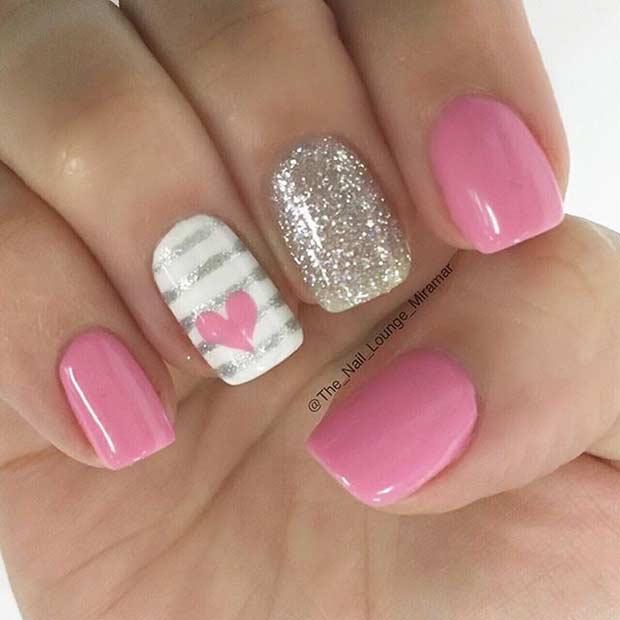 Valentine's Day Nails Inspo