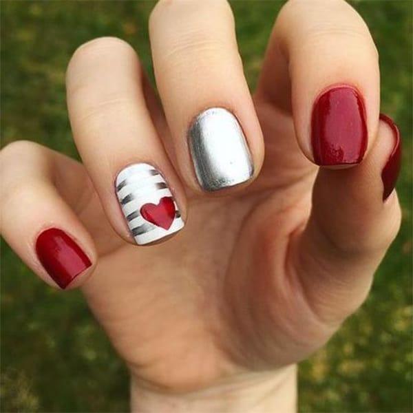 Valentine's nails inspiration