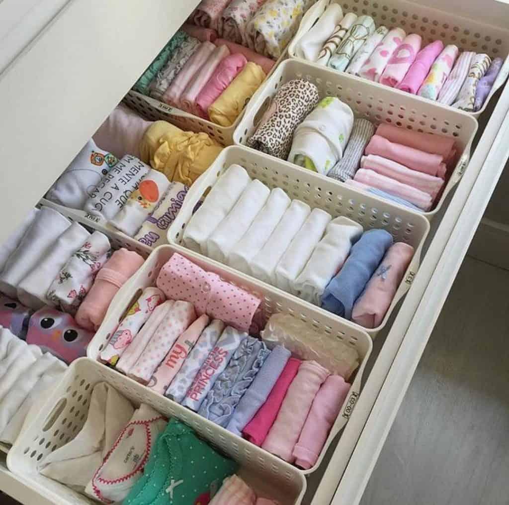 nursery storage dresser drawer dividers