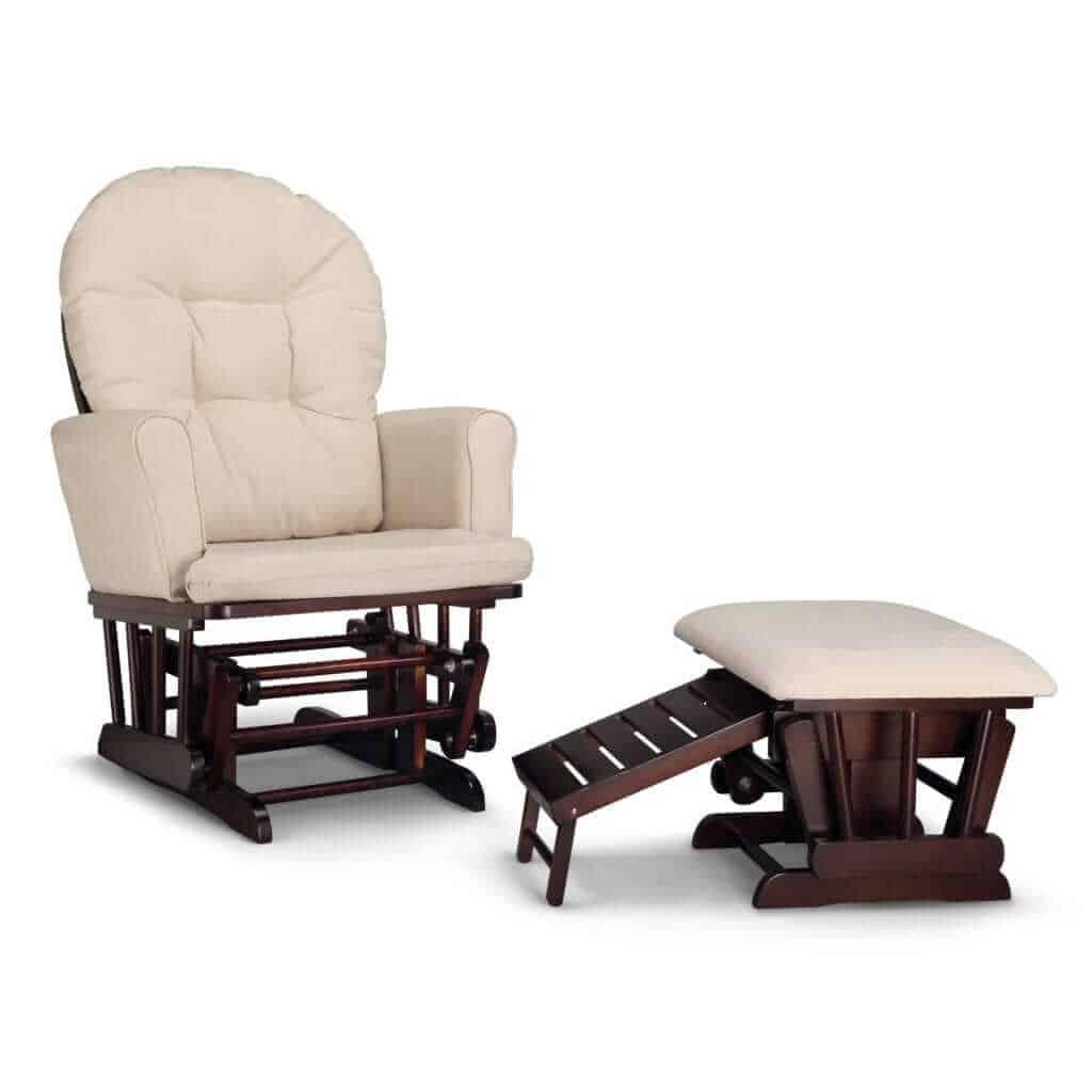 Nursery glider, nursery chair, best nursery glider, nursing ottoman