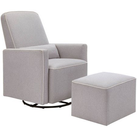 Nursery glider, nursery chair, nursery glider with ottoman