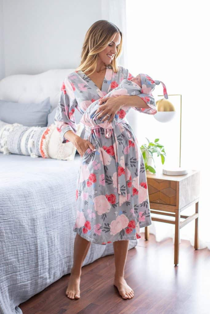 Delivery Robe and Swaddle